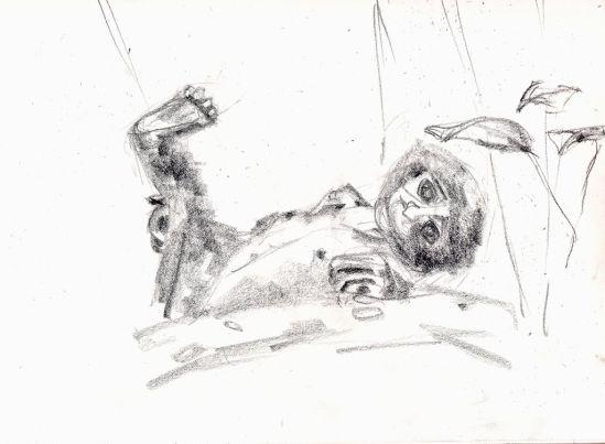 """#8B  Pencil, 9""""x12"""", Sketch Paper"""